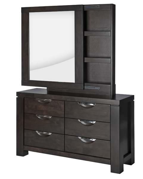 Пример трюмо с зеркалом в спальню