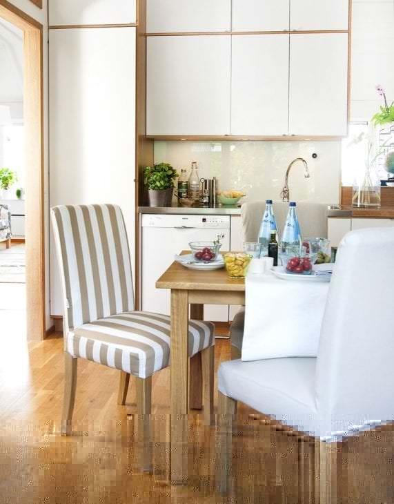 Чехлы драпировочные на стулья для кухни