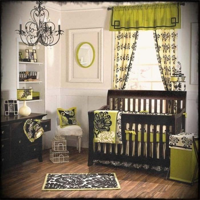 Шторы с узором в детскую комнату для мальчика