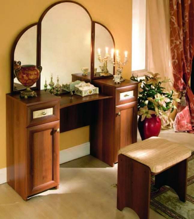 Стилистическое вливание мебели в спальню