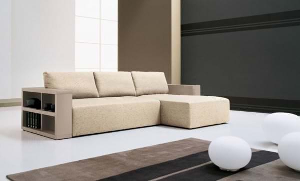 Модульные диваны для гостиной со спальным местом: фото варианты