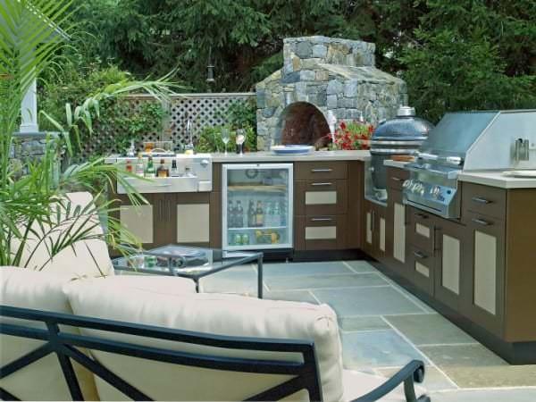 Летние кухни на даче проекты фото: советы по интерьеру