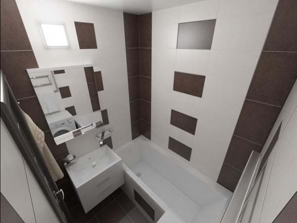 Как обустроить интерьер, чтобы получилась уютная ванная комната с дизайном на фото 6кв.м если санузел совмещенный
