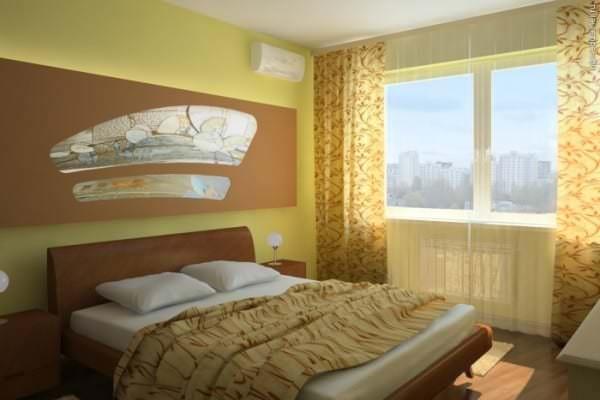 Перепланировка спальни