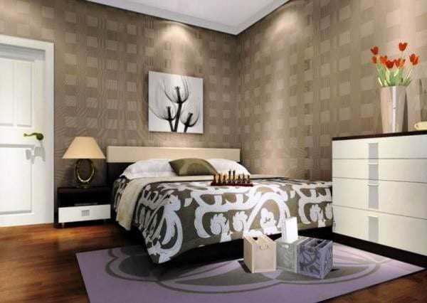 Дизайн и фото спальни в 10 кв м