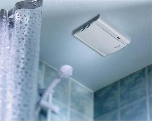 цифровой вентилятор в ванную комнату
