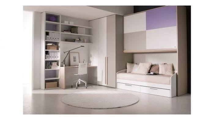 Фото классического дизайна обоев для детской комнаты для девочек