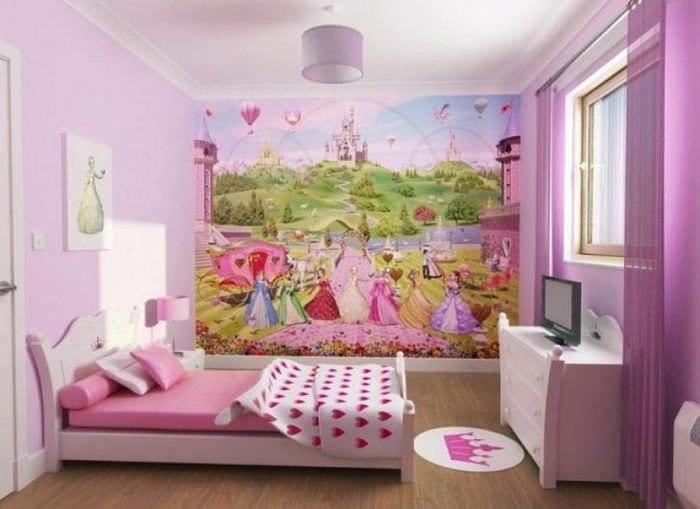 Оформление детской комнаты для мальчика тематическими стильными обоями