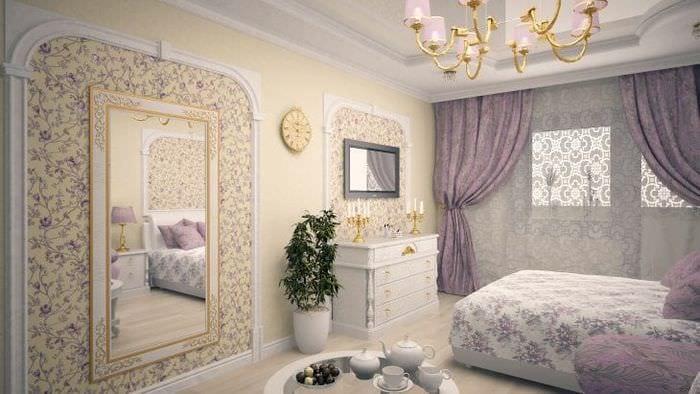 Идеи светлых обоев для детской комнаты для маленькой принцессы