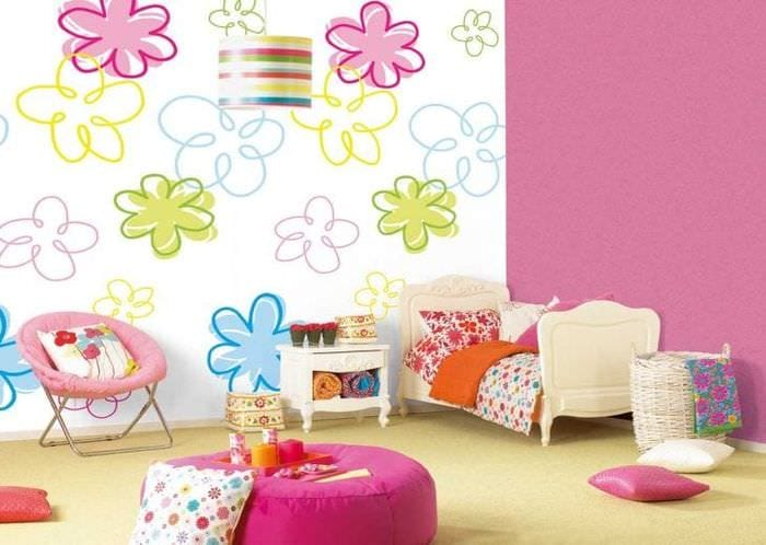 Современные обои для детской комнаты | 807x1134