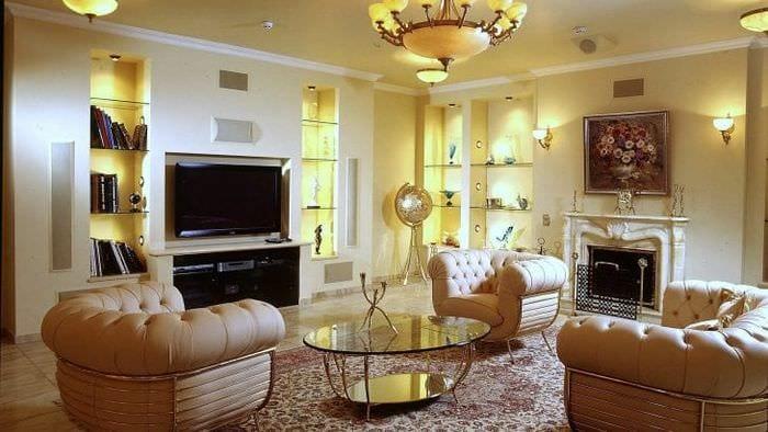 Классическая тумба под телевизор для яркого и стильного декора