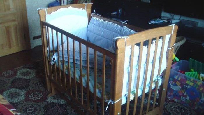 Детская кровать трансформер для новороденного