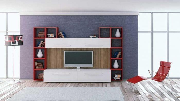 Стильные модульные системы для интерьера гостиной