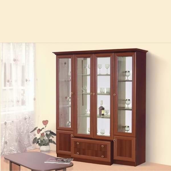 Как выбрать витрины для гостиной комнаты