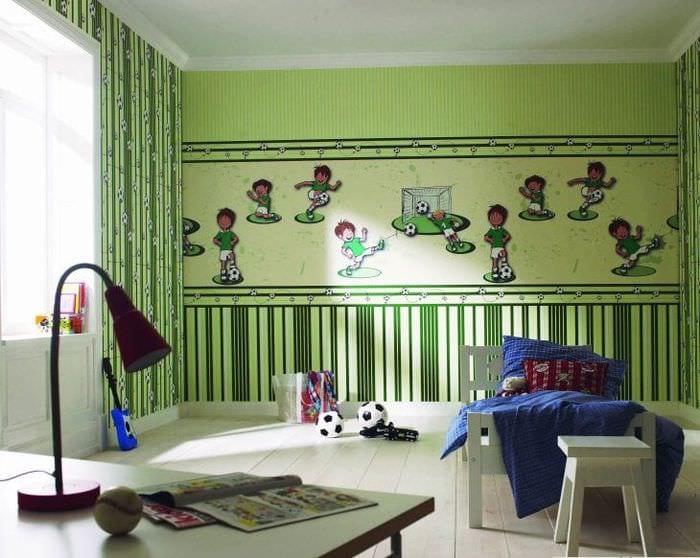 Обои для детской комнаты для маленького мальчика