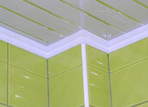 потолочный плинтус для ванны