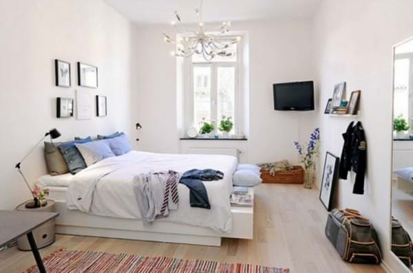 Различные стили оформления спальных комнат