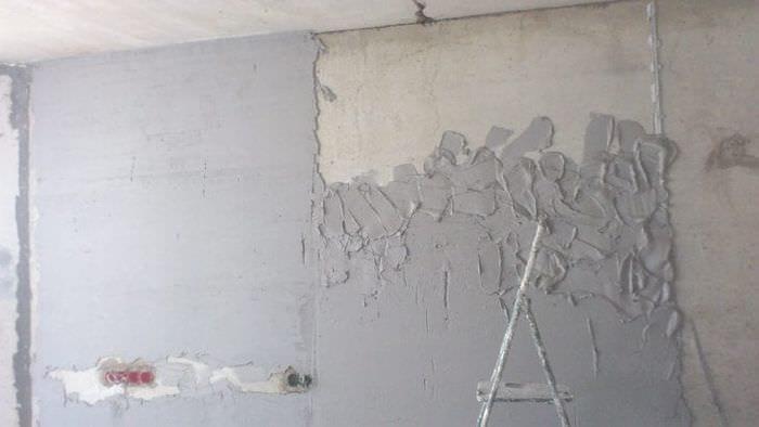 Подготовка стен для поклейки обоев с помощью грунтовки