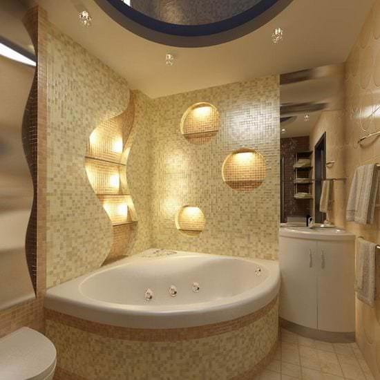 Обустраиваем ванную комнату