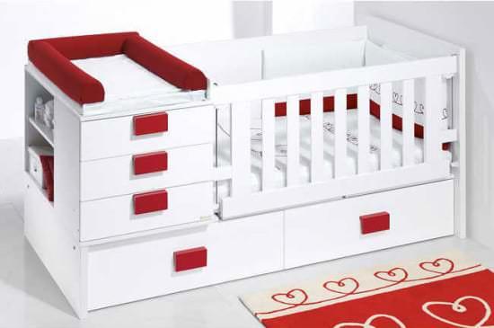 Размеры детской кроватки-трансформера
