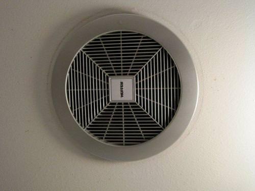 стандартная вентиляционная система в ванную