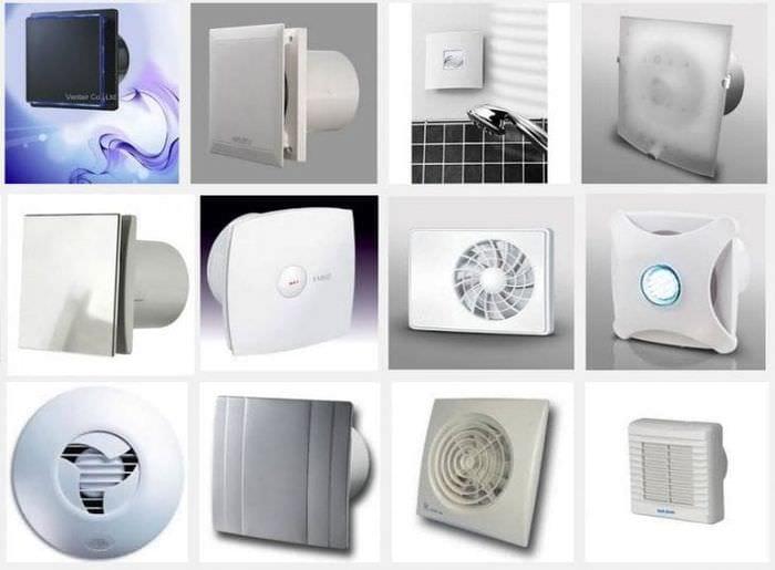Основные характеристики по выбору вытяжной вентиляции