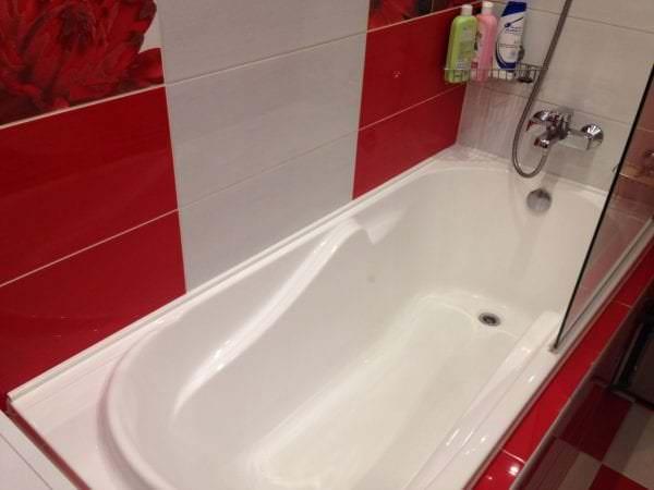 герметический плинтус в ванную