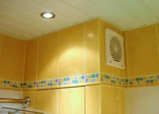 веревочный вытяжной вентилятор в санузел
