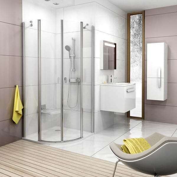 Как правильно подобрать душевую кабину для ванной комнаты