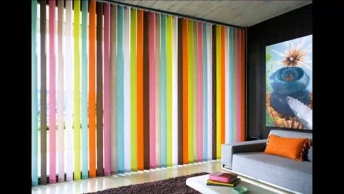 Жалюзи из обоев для стильного декора комнаты
