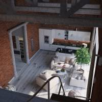 3d интерьер кухни фото
