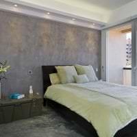 отделка потолка с раствором бетона в гостевой фото
