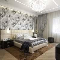 яркий стиль спальни фото