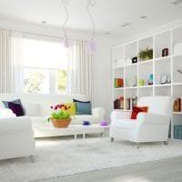 коричневый цвет в дизайне квартиры картинка