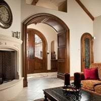 красивая арка в интерьере прихожей картинка