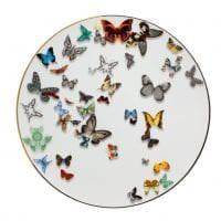 необычные бабочки в декоре спальни картинка