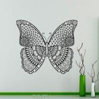 необычные бабочки в стиле комнаты фото