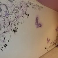 красивые бабочки в стиле спальни фото