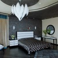 яркий ар деко стиль спальни фото
