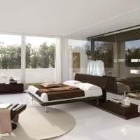 яркий дизайн комнаты в стиле хай тек фото