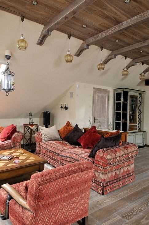 красивый дизайн квартиры в этническом стиле