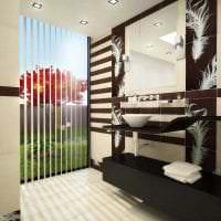 яркий стиль гостиной в японском стиле фото