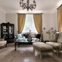 красивый интерьер спальни в французском стиле картинка