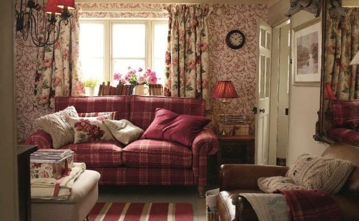 необычный стиль спальни в английском стиле
