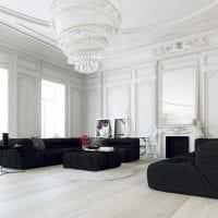 светлый дизайн спальни в белых тонах фото