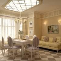яркий декор коридора в французском стиле картинка