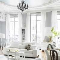 яркий дизайн гостиной в французском стиле фото