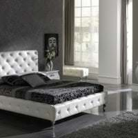 красивый декор комнаты в черном цвете фото
