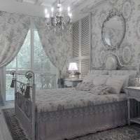 светлый декор комнаты в стиле шебби шик картинка
