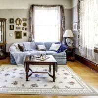 яркий интерьер квартиры в американском стиле фото